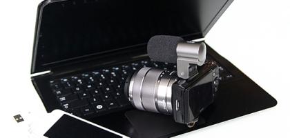 Laptop mit Kamera
