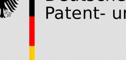 abgeschnittener Bundesadler, deutschle Flaggenfarben