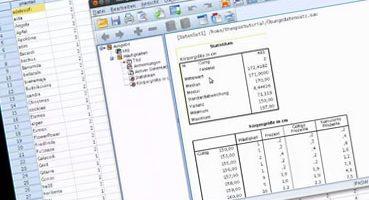 SPSS Screenshot