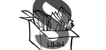 Paragraphsymbol über Papierkiste