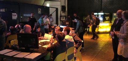 Ein Bild des Workshops Raspi