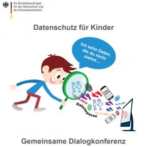 """Einladung zur Dialogkonferenz """"Datenschutz für Kinder"""""""