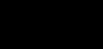 Silhouette zweier Menschen in Interaktion